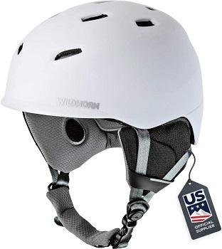 US Ski Team Helmet for Snowboarding and Skiing
