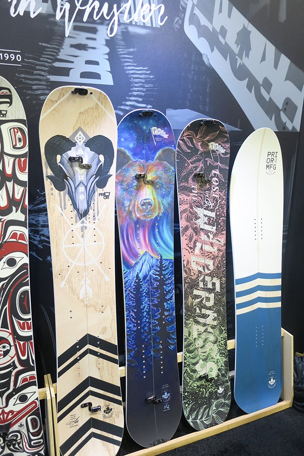 2019 Snowboards Outdoor Retailer First Look Mountain