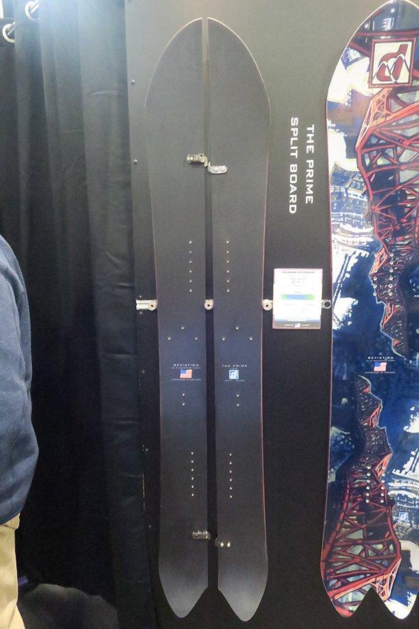 Deviation Snowboards Splitboard