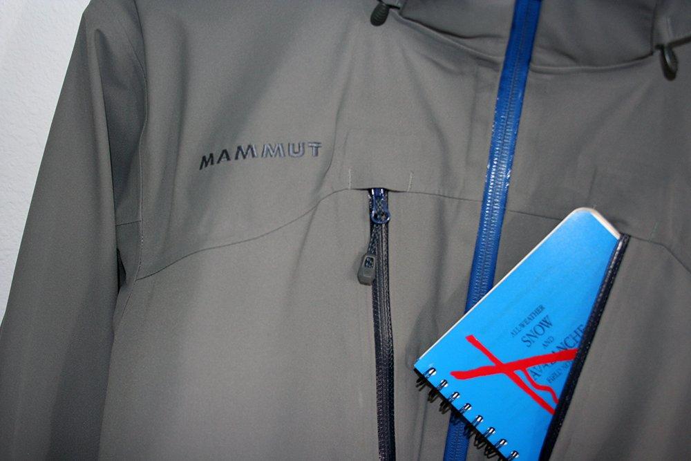 Mammut Stoney HS Jacket Avalanche Notebook
