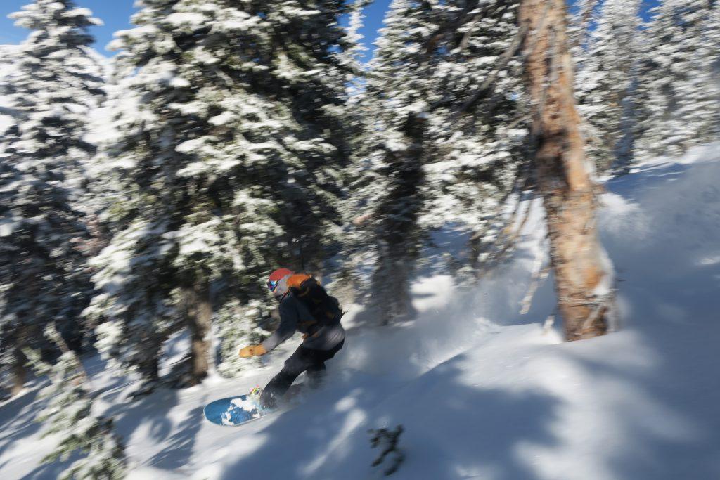 Never Summer Maverix Snowboard Air