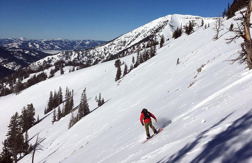 Weston Range Splitboard Wyoming Backcountry