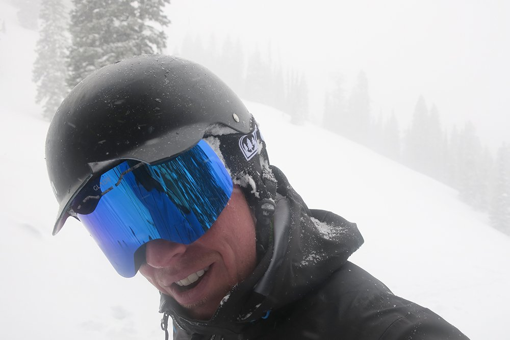 Glade Challenger Goggle over Helmet