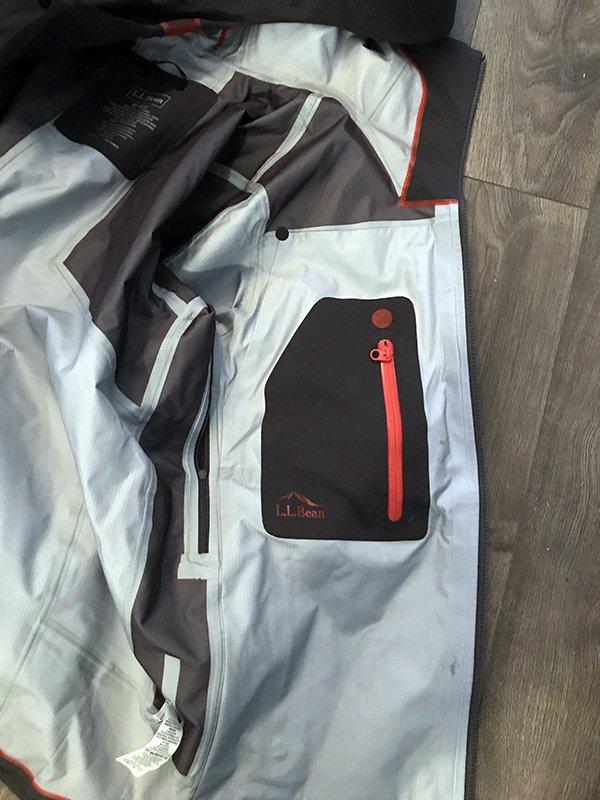 LL Bean Logo Pocket