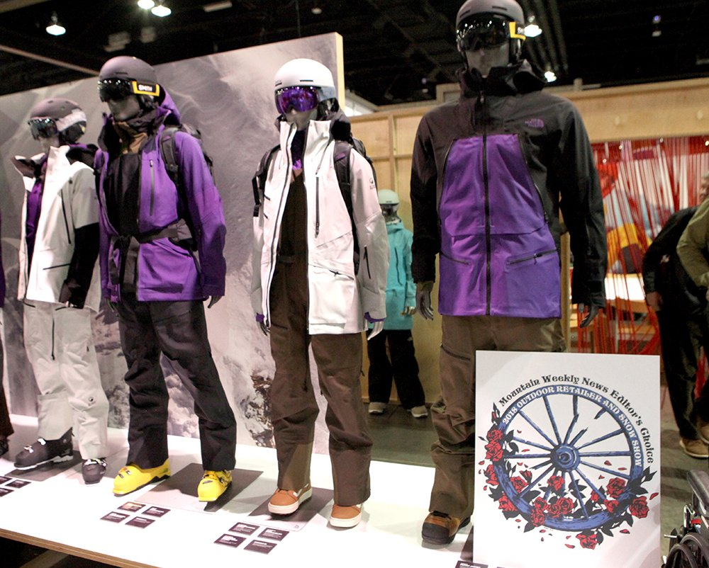 Outdoor Retailer Editors Choice Award The North Face Purist jacket 2019