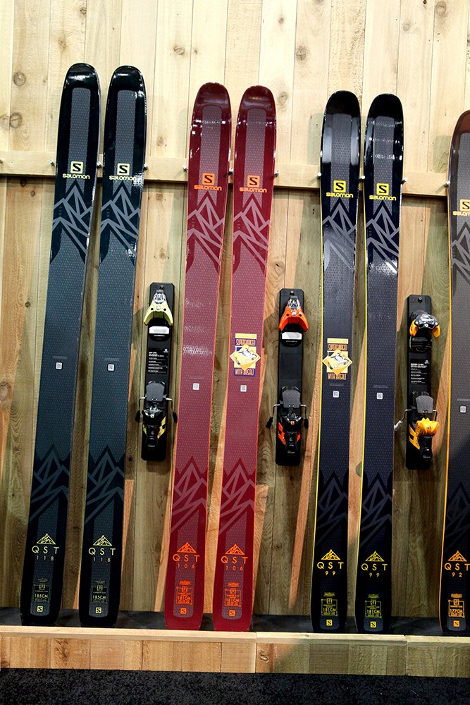 Skis previewed from sia on snow demo