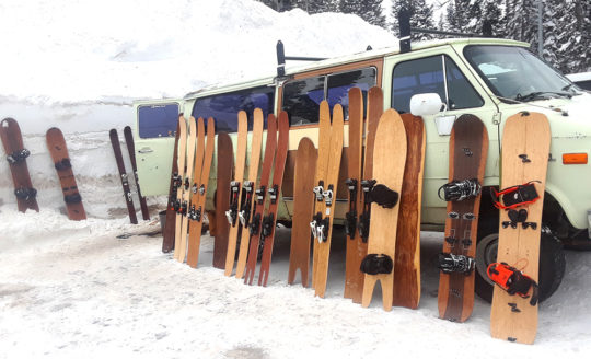 Igneous Hand Built Snowboards & Skis in Jackson WY