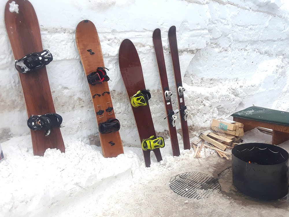 Igneous Skis and Boards