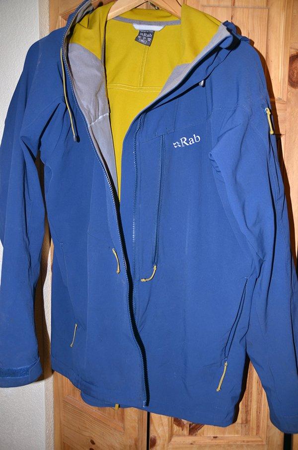 Rab Jacket Front Pockets
