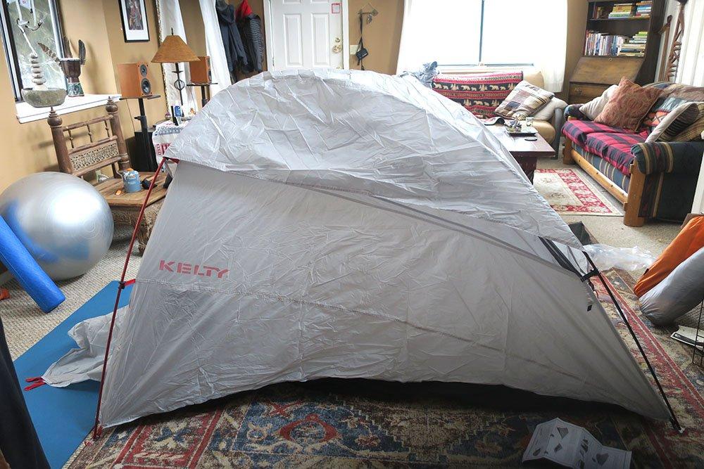 Kelty Horizon Indoor Tent Test