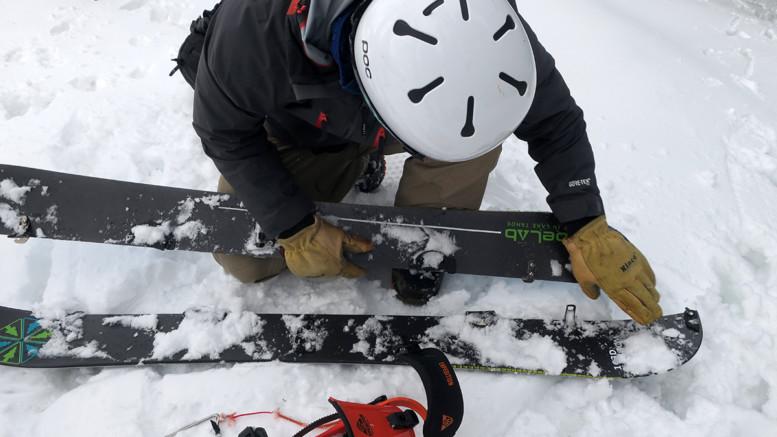 TahoeLabs Directional Camber Splitboard