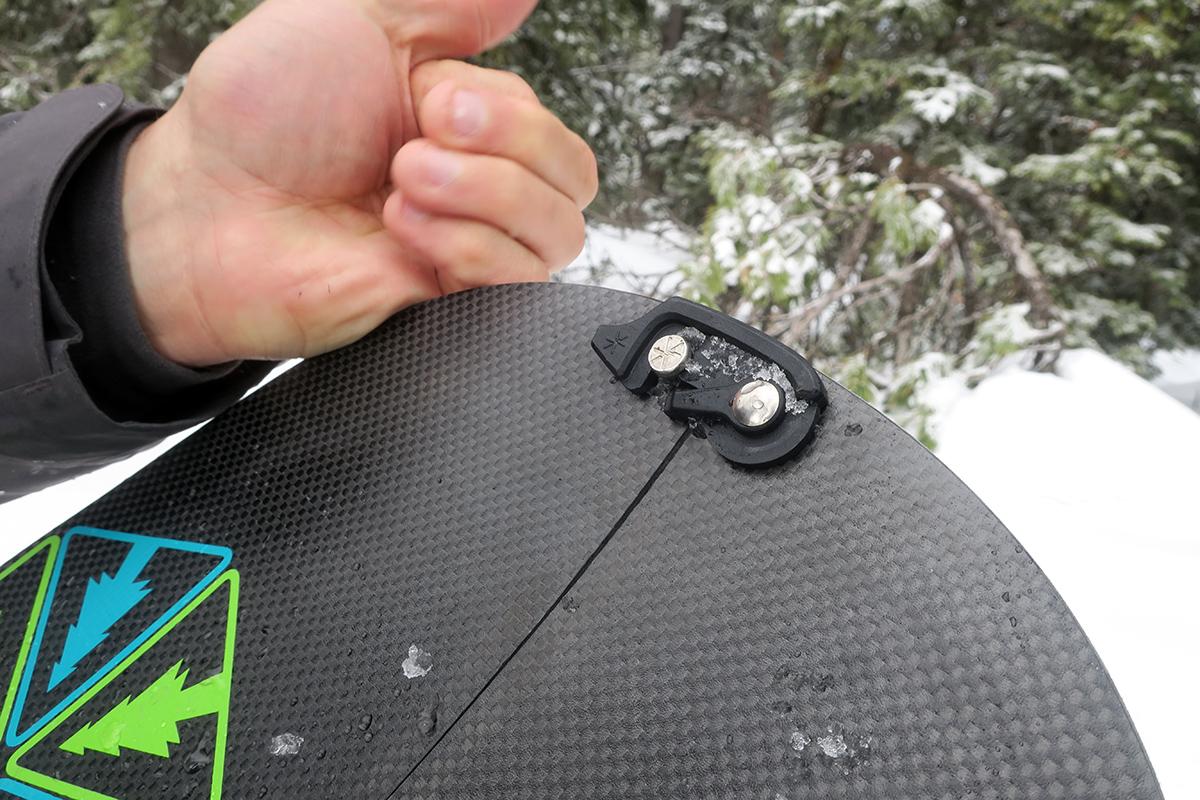 Splitboard clip
