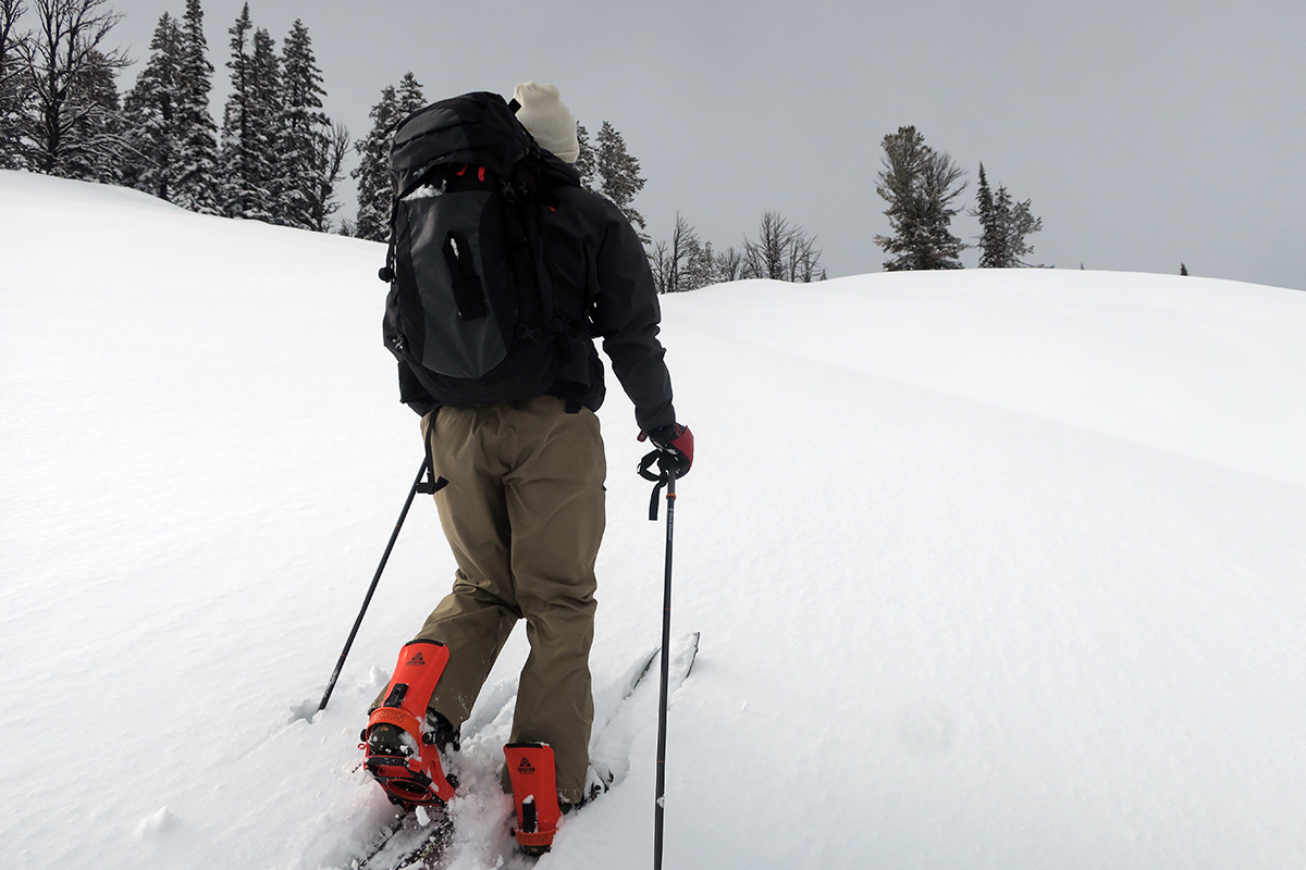 Splitboarding on Teton Pass, Wyoming