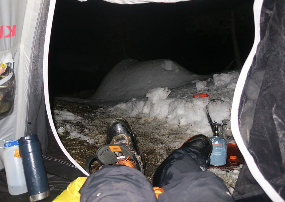 Wet Snowboard Boots Winter Camping