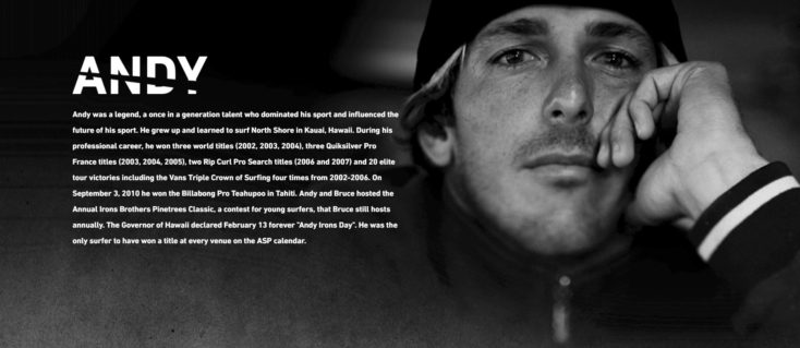 Kissed By God, a Film about Andy Irons