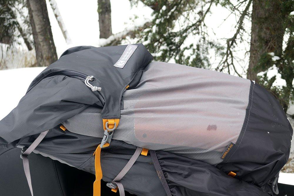 Gossamer Ski Backpack Shovel and Probe