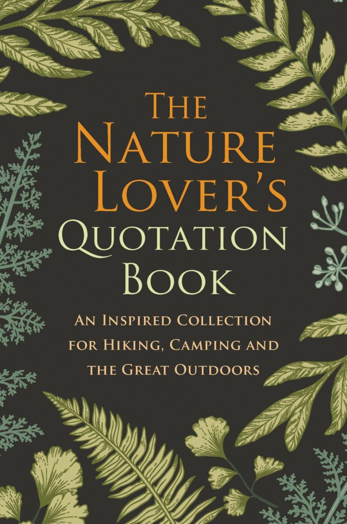 Nature Lovers Quotes Book