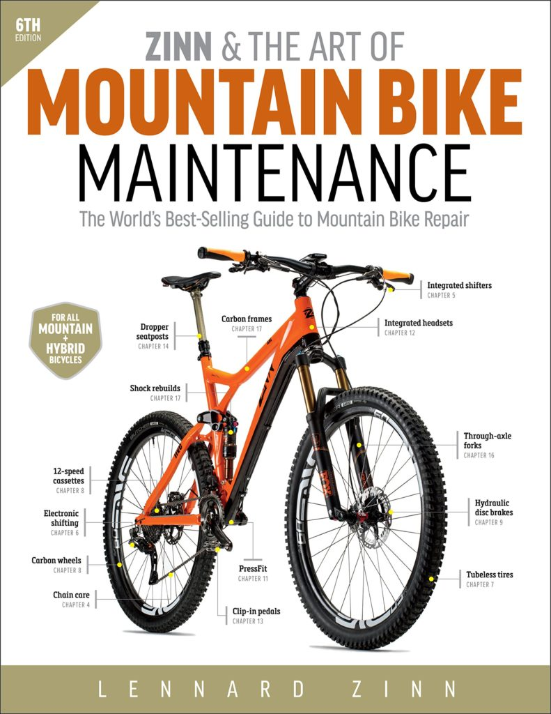 Zinn & The Art of Mountain Bike Maintenance Book
