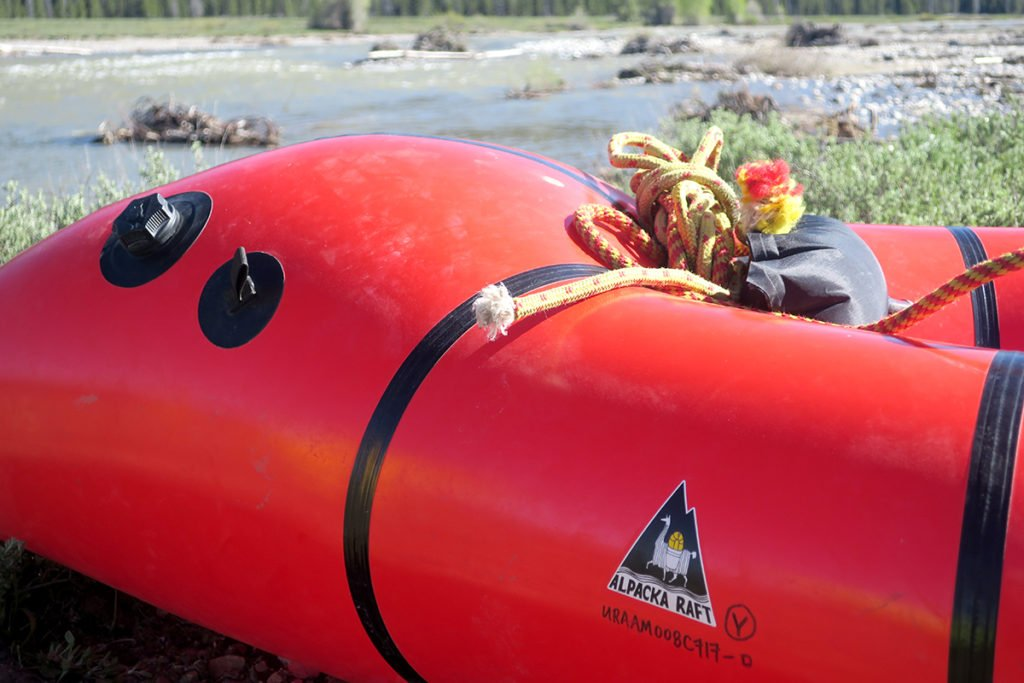 Alpacka Raft Packraft Rope Pacific Creek Jackson WY