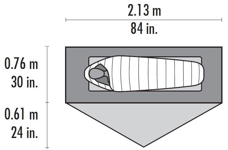 MSR Carbon Reflex Tent Floor