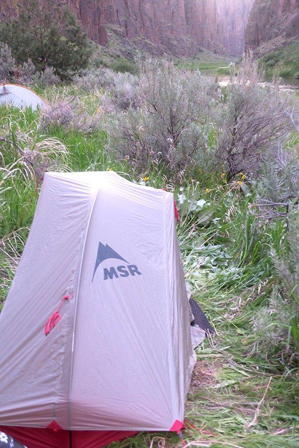 MSR Reflex Carbon 1 Solo Tent