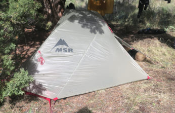 MSR Carbon Reflex Ultralight 1 Person Tent Review
