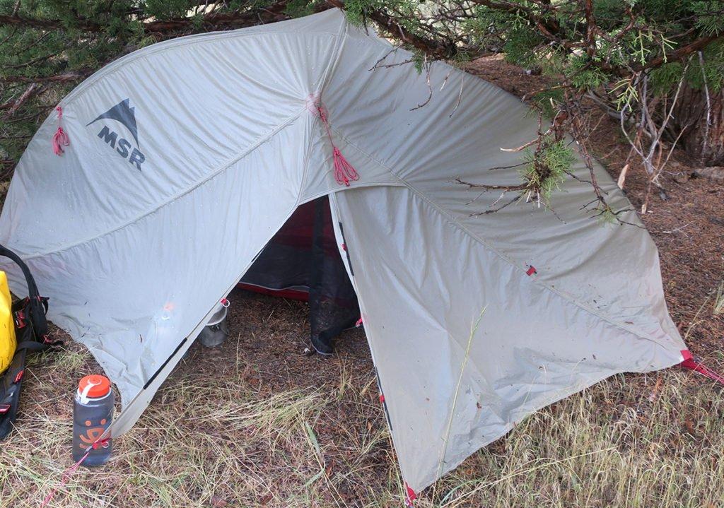 MSR Carbon Reflex Tent Camping