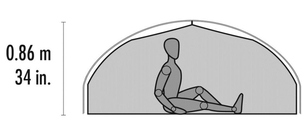 MSR Carbon Reflex Sitting Room Tent