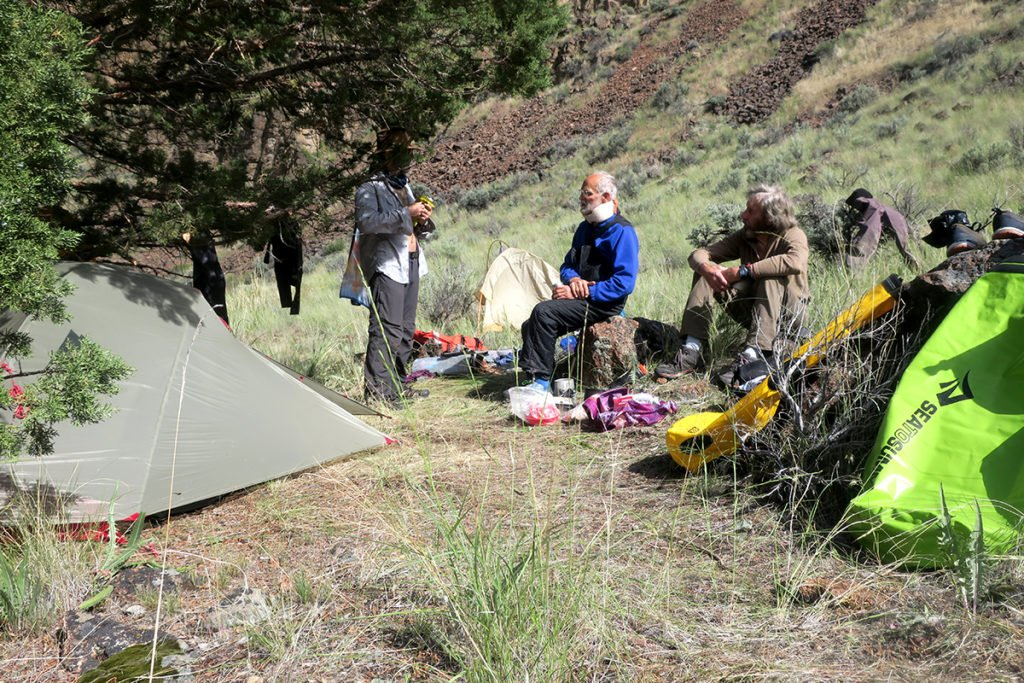 owyhee river camping