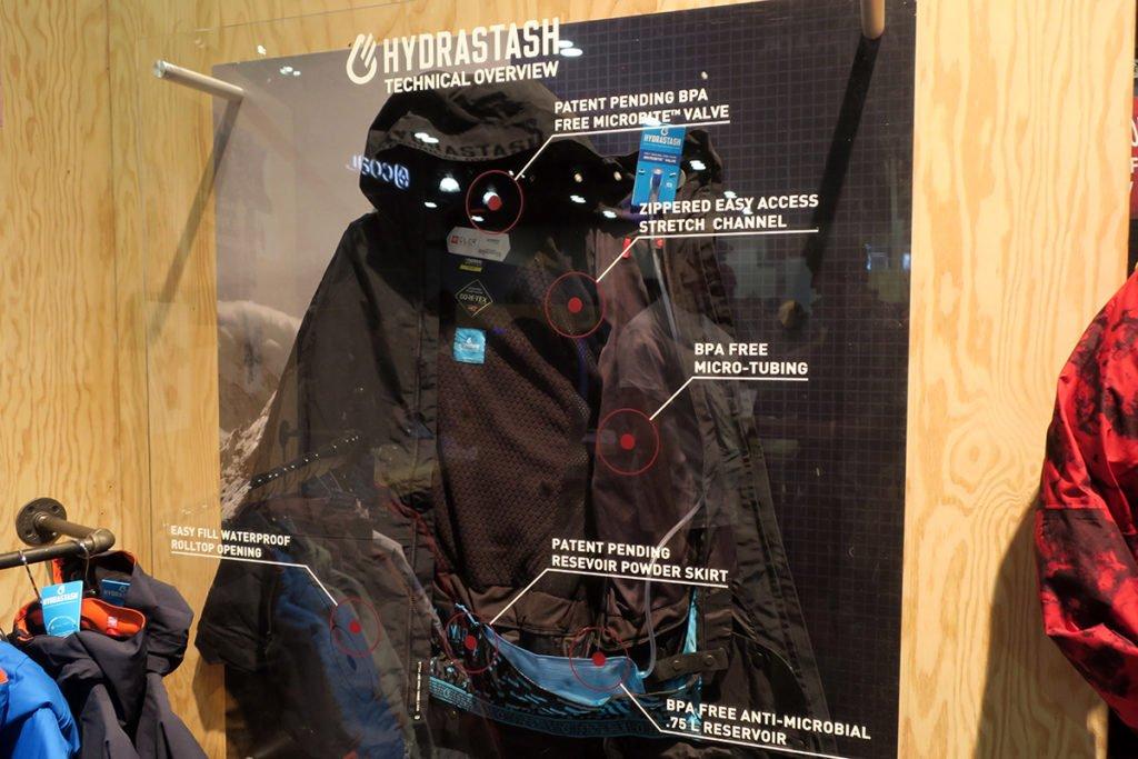 Snowboard Jacket Hydration via the 686 Hydrajacket