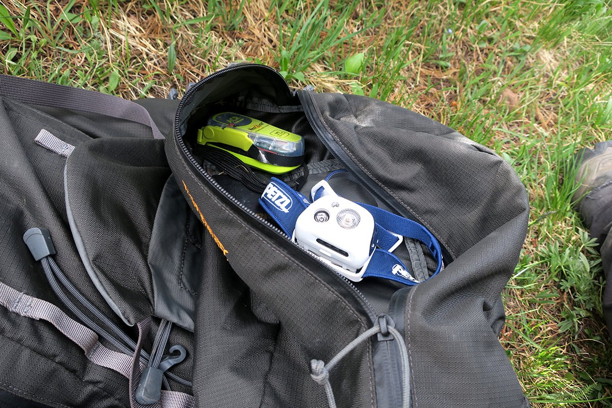 Backpack Gear Pockets