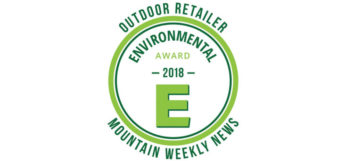 Outdoor Retailer 2018 Environmental Friendly Product Award Winners