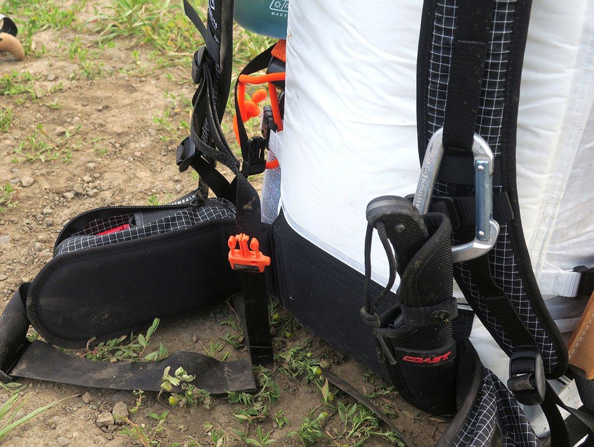Backpack waist belt - Hyperlite