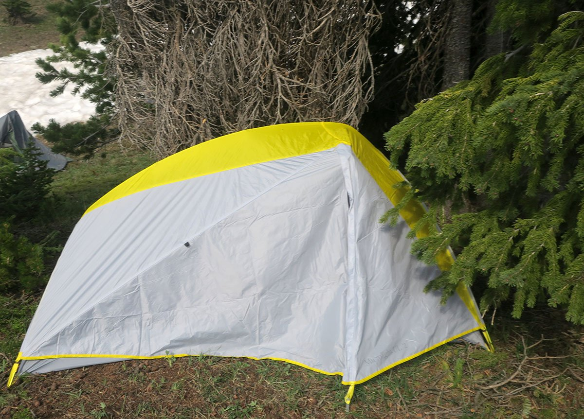 Camping Absorka Mountains with LL Bean Tent