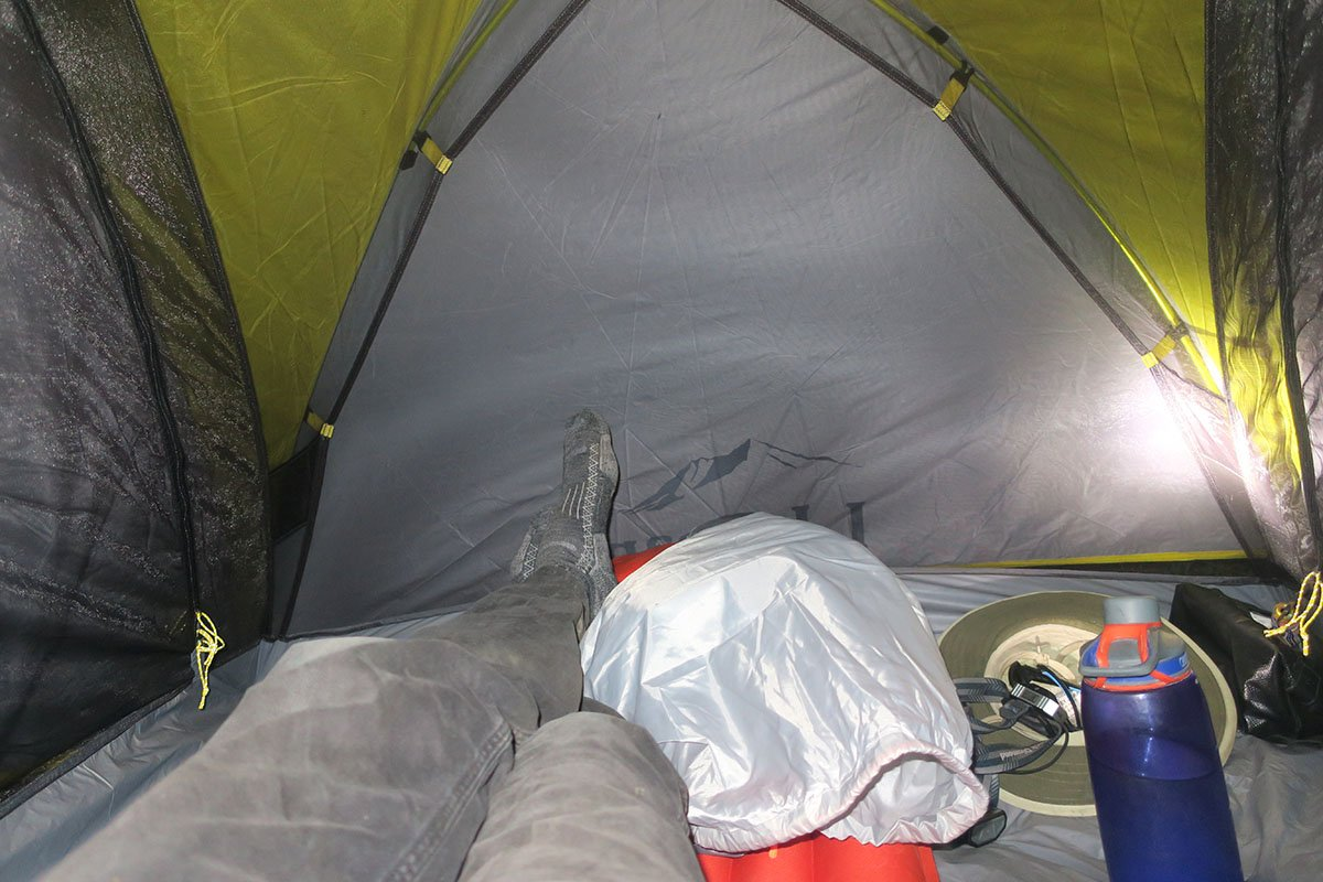 LL Bean Tent Floor Space for Backpacking