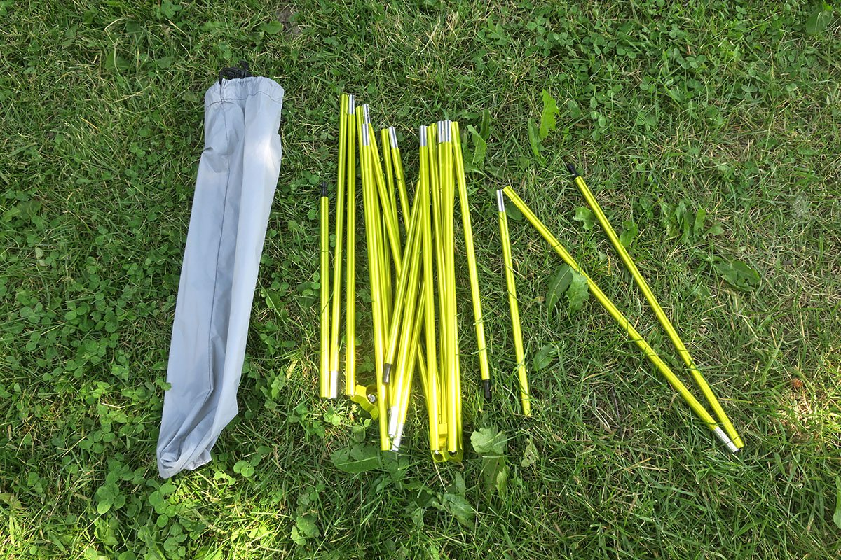 LL Bean Tent Poles for Backpacking