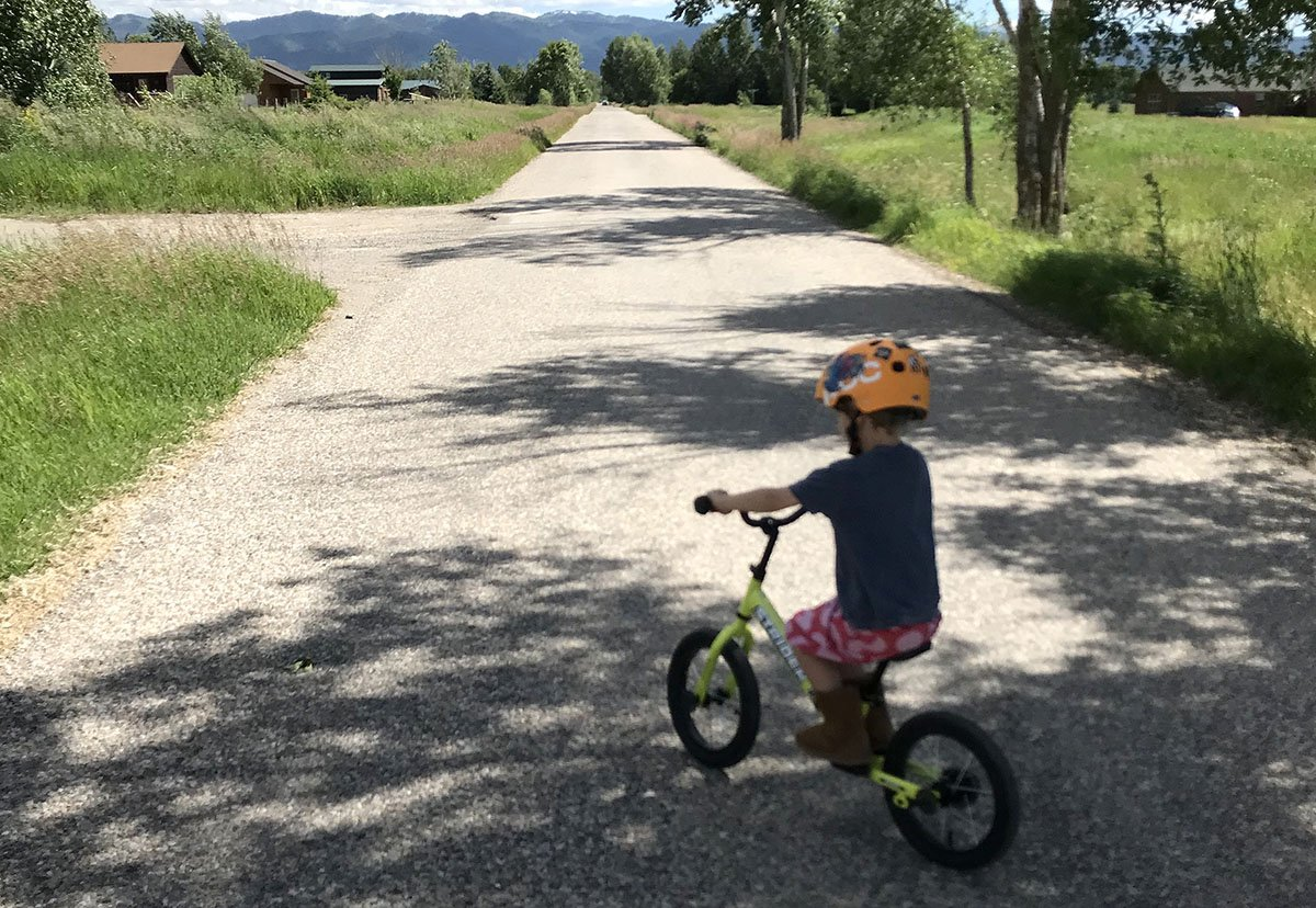 Learning to Ride with Pedals