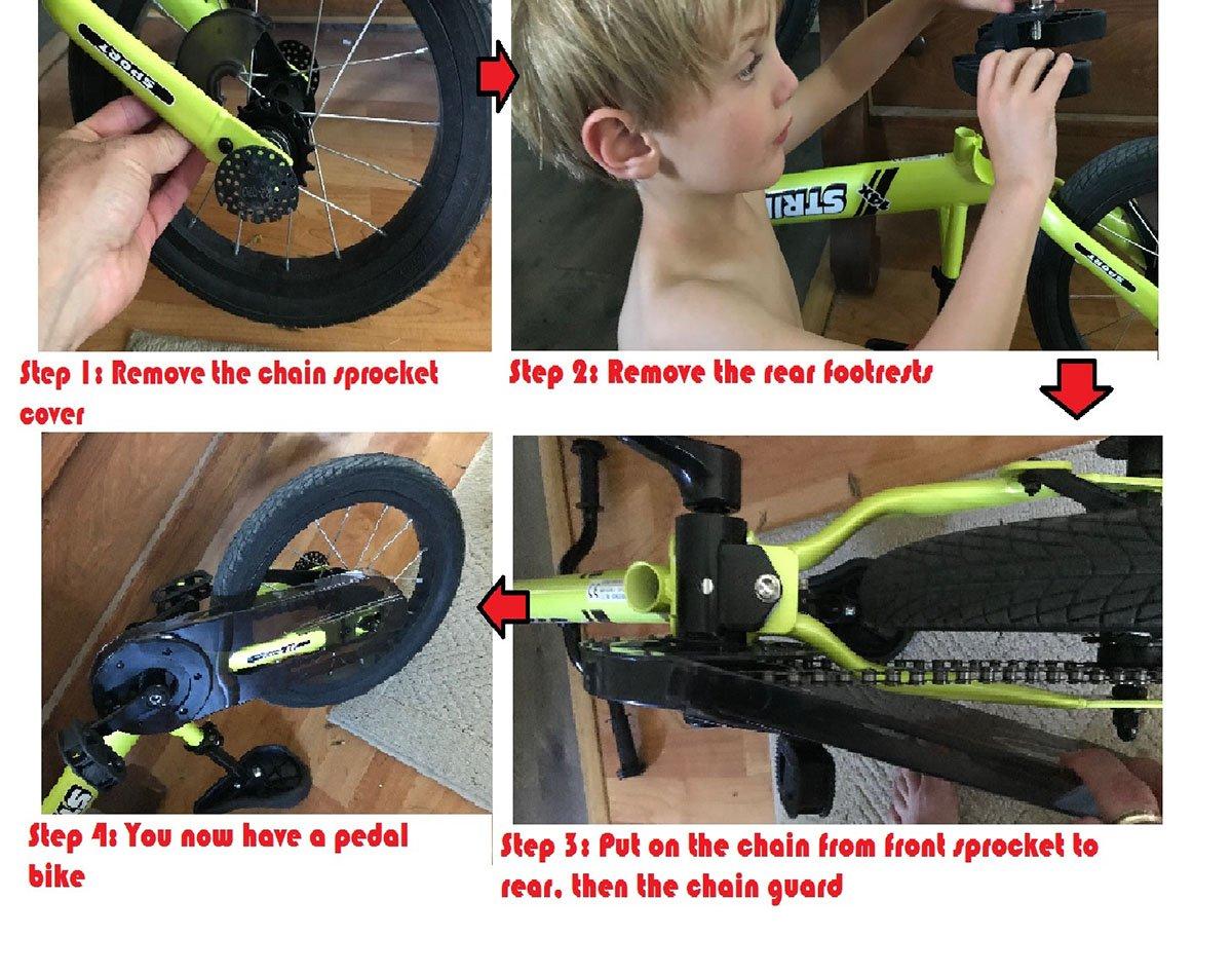 Converting the Strider Bike for Children