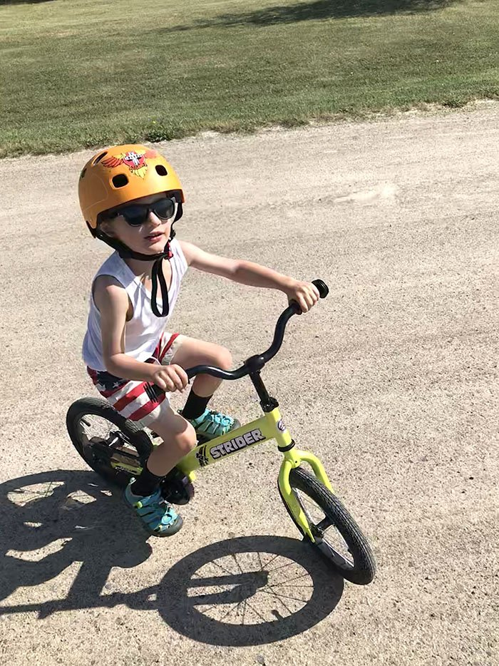 Riding without Pedals - Kids