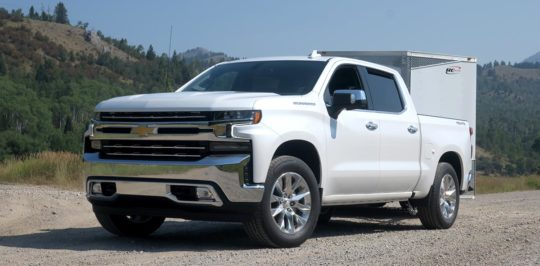 2019 Chevy Silverado Test Drive, a Truck Designed for Towing Lots of Toys