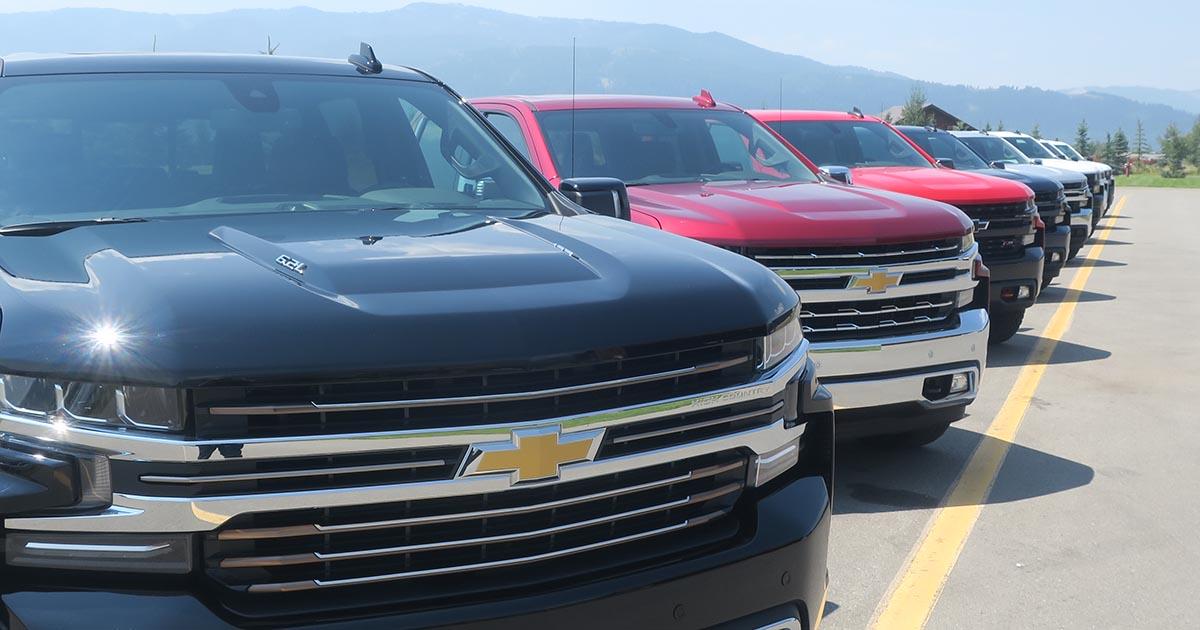 2019 Chevrolet Silverados
