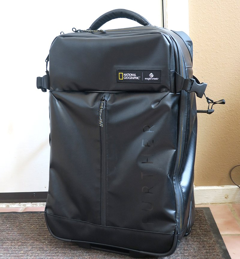 Eagle Creek Borderless Convertible Carry-On National Geographic Collection