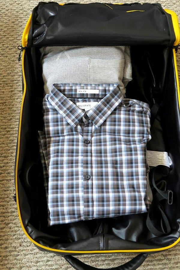 Inside a Suitcase