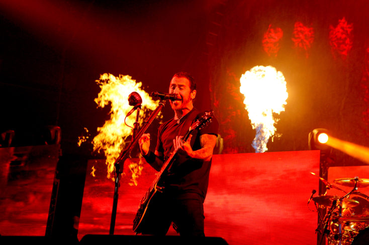 Godsmack and Shinedown at Pepsi Center Denver