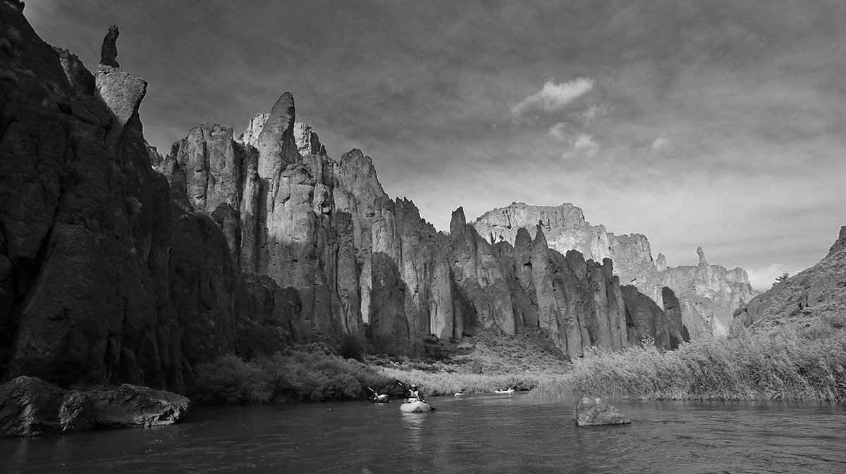 Owyhee River Packrafting