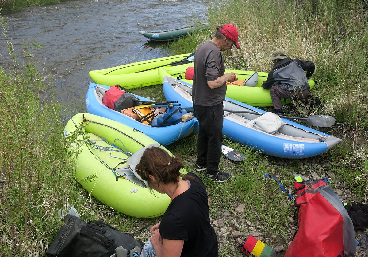 Owyhee Packrafting