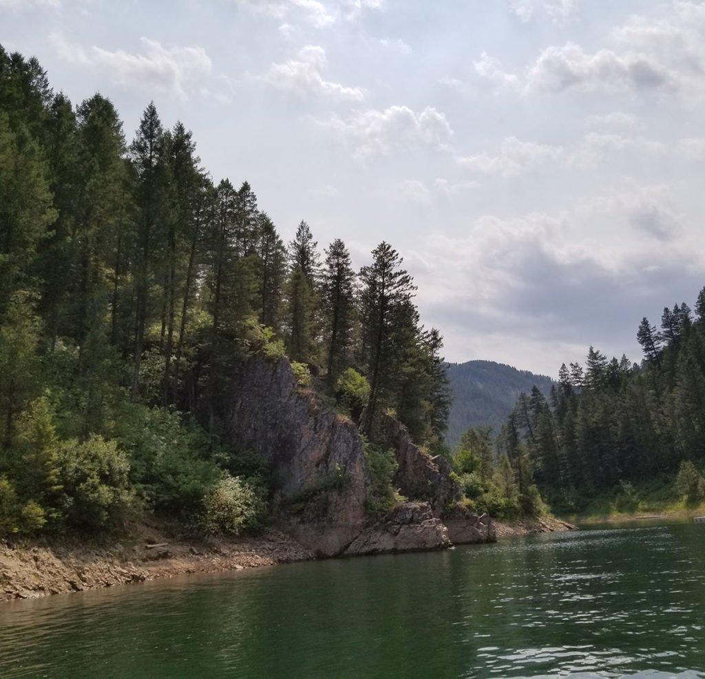 Palisades Lake Wyoming