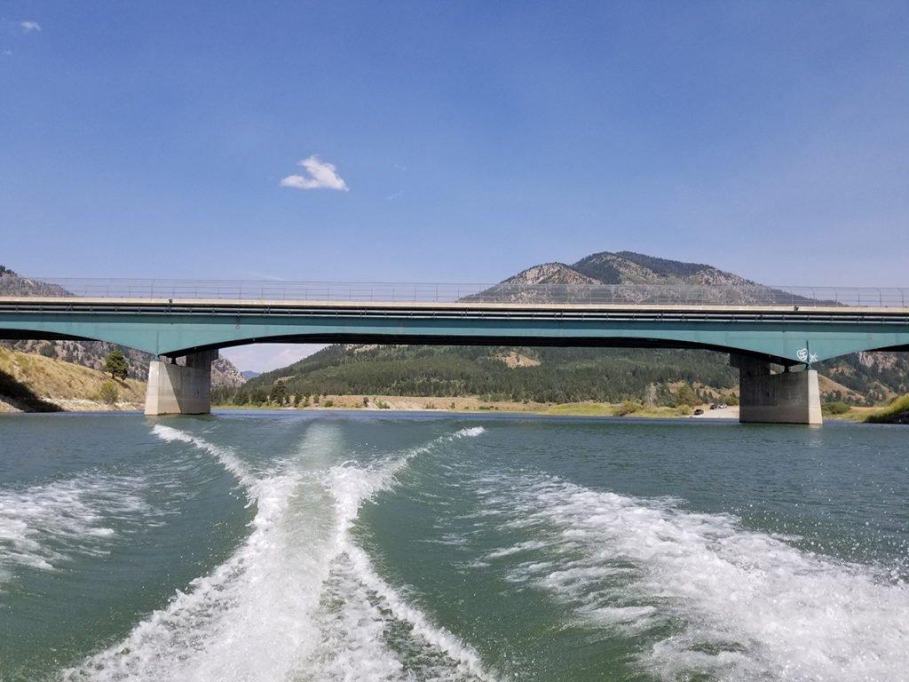 Palisades Dam Wyoming / Idaho Border