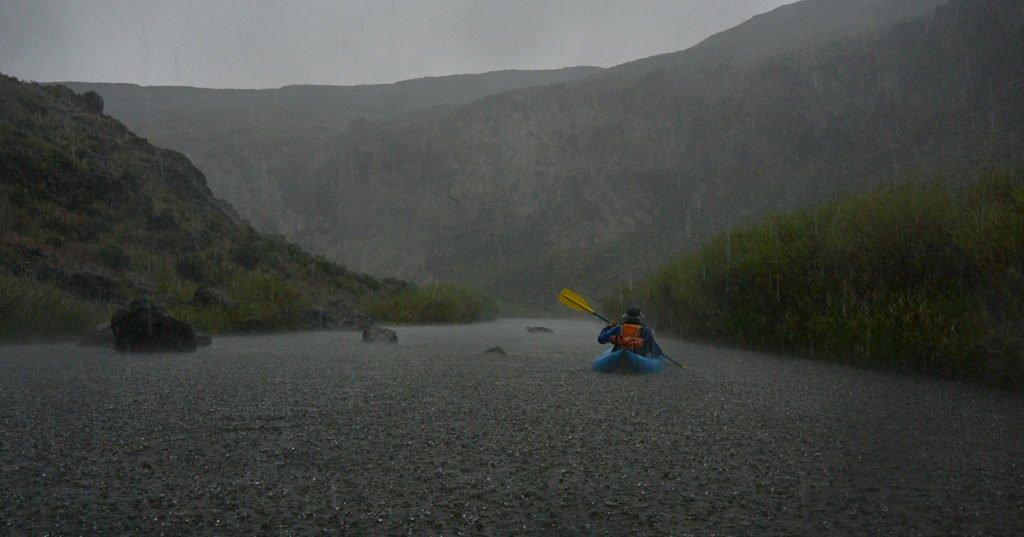 Owyhee River Rain Storm