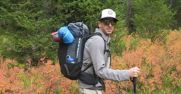 Backpacking Yellowstone
